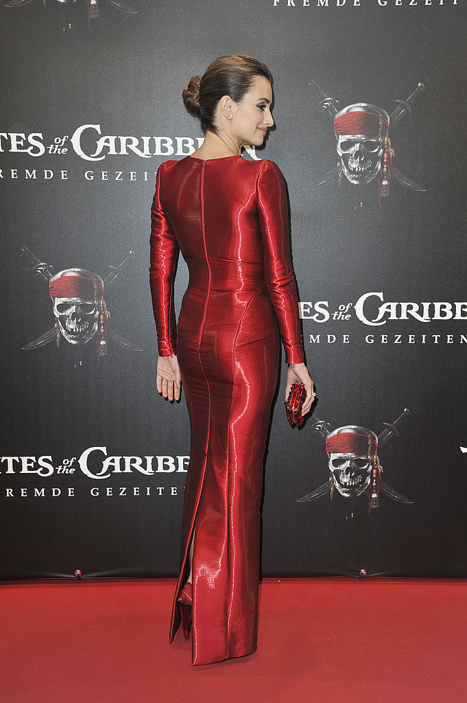 Vogue Cover Girl Penelope Cruz Heats Up a Red-Hot Pirates Premiere