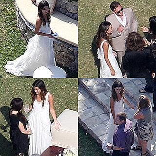 Pictures of Lily Aldridge and Caleb Followill's Wedding