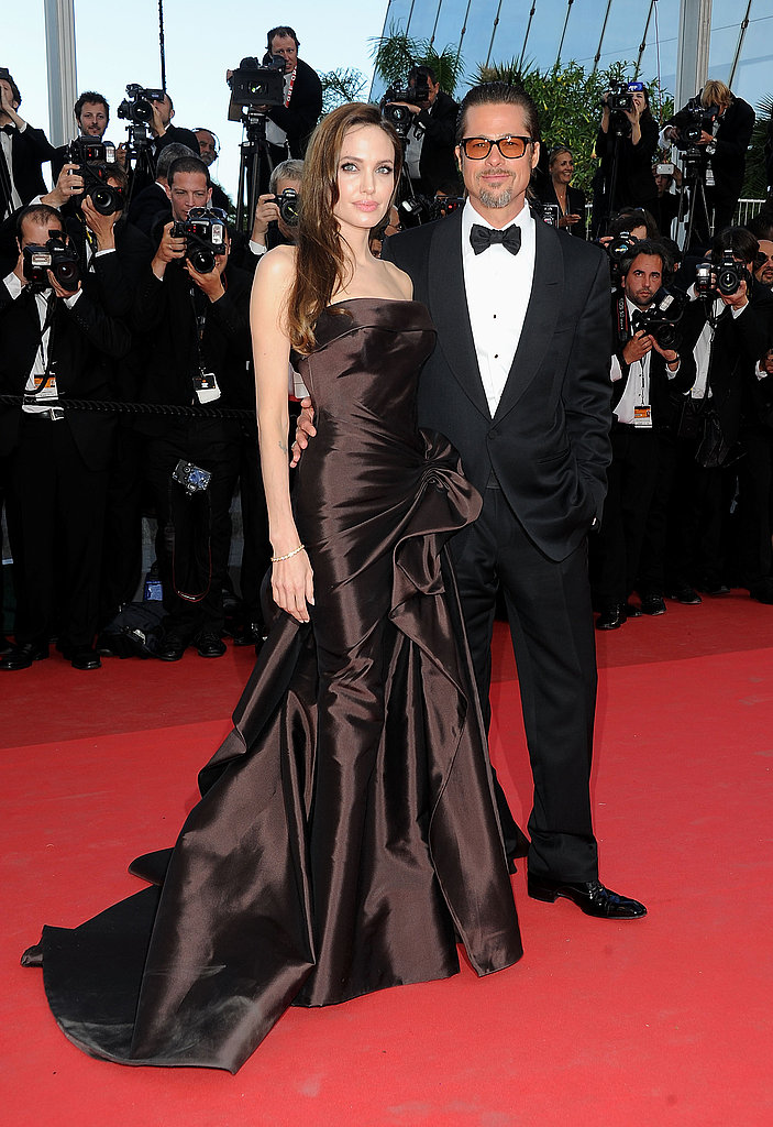 Brad Pitt and Angelina Jolie Step Out Together For a Hot Tree of Life Premiere