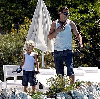 Gavin, Kingston, and Zuma Rossdale Having Fun in Cannes, France
