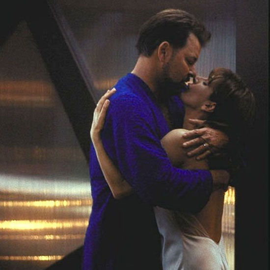 Deanna Troi and William Riker — Star Trek: The Next Generation