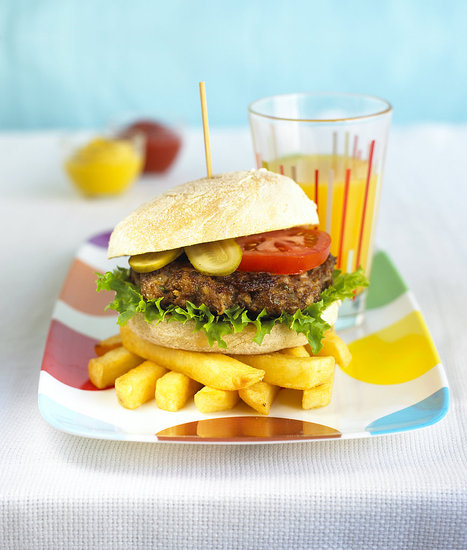Annabel Karmel&#039;s Healthy Hamburger