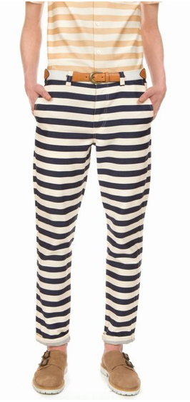 We found this gem in the men's section. We suggest wearing them slouchy and paired with high heels. Opening Ceremony x Lane Crawford  Striped Pants ($245)