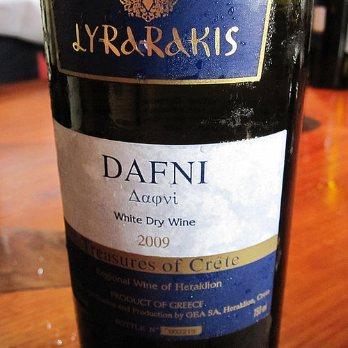 Greek Wine Review: 2010 Lyrarakis Dafni