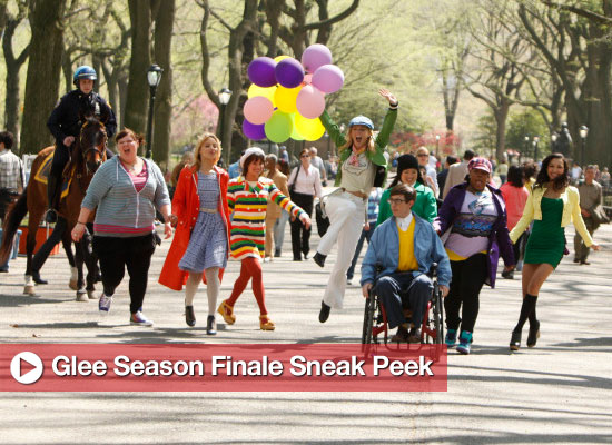 Glee Season Finale Sneak Peek