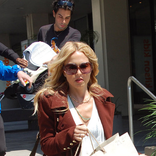 Pictures of Rachel Zoe Shopping With Skyler Berman