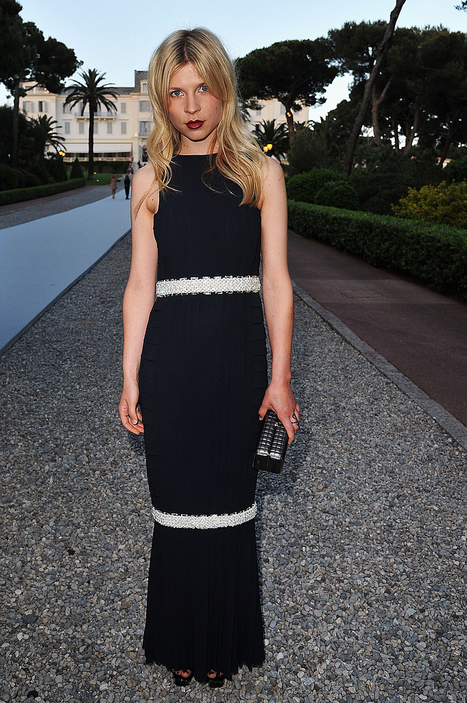 Clemence Poesy in Chanel