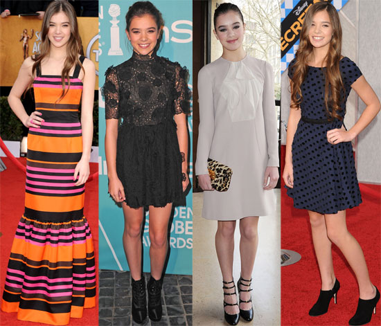 Hailee Steinfeld just signed on as the new face of Miu Miu — and we've got a peek at her best looks.