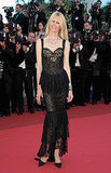 Claudia Schiffer in Chanel couture