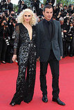 Gwen Stefani in Stella McCartney, with Gavin Rossdale