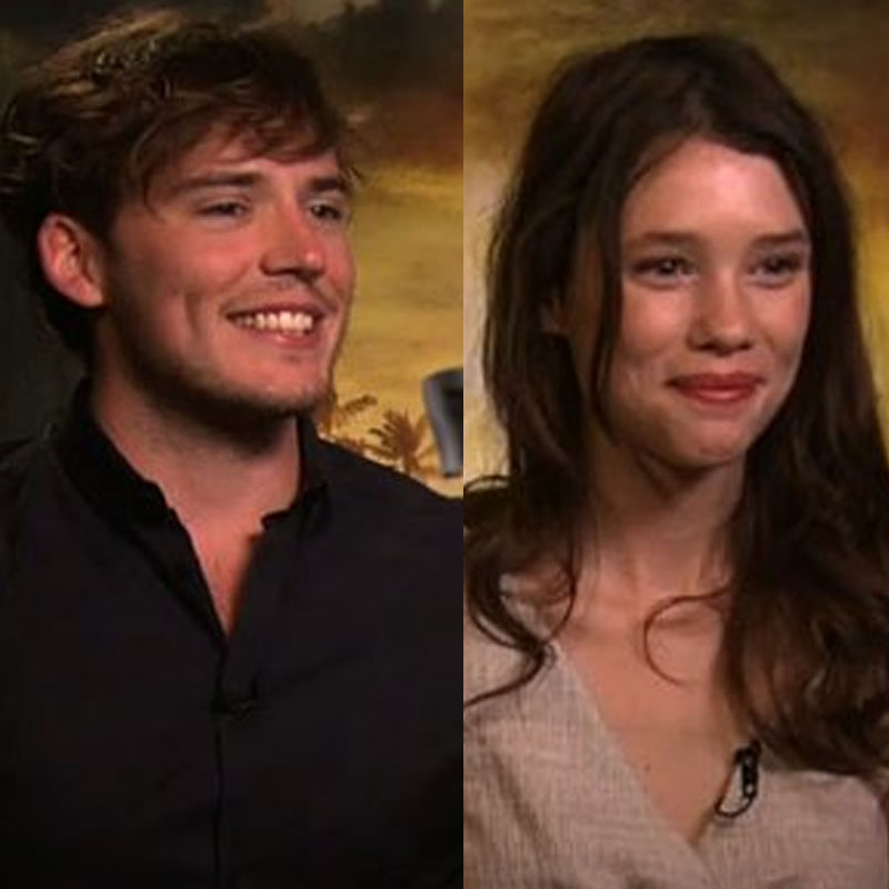 Video: Interview With Sam Claflin and Astrid Berges-Frisbey