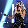 Fergie&#039;s Light Dress at the 2011 Billboard Music Awards