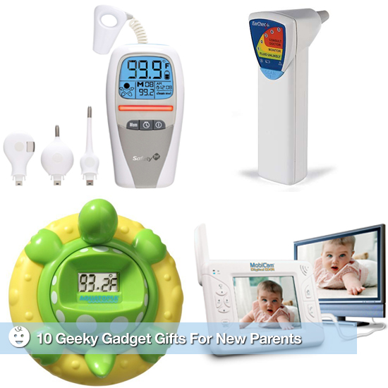 10 Geeky Gadget Gifts For New Parents