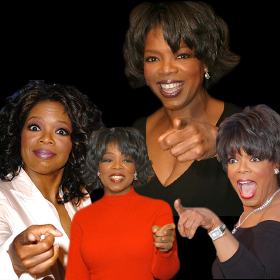 Pictures of Oprah Winfrey Over the Years
