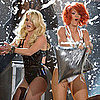 Britney Spears and Rihanna at Billboard Awards