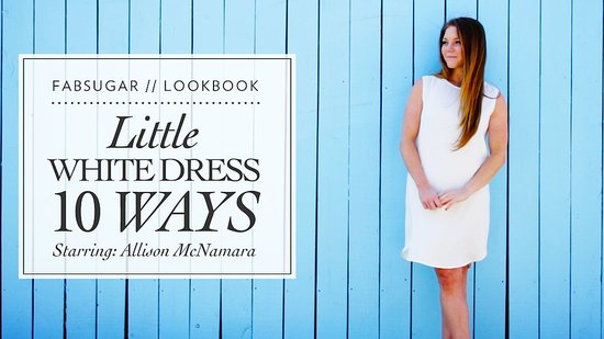 10 Ways to Wear a Little White Dress