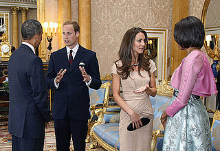 Pictures of Kate Middleton and Prince William Welcoming President Obama and Michelle to London