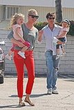 Rebecca Romijn and Jerry O'Connell Have a Playdate With Their Adorable Matching Twins