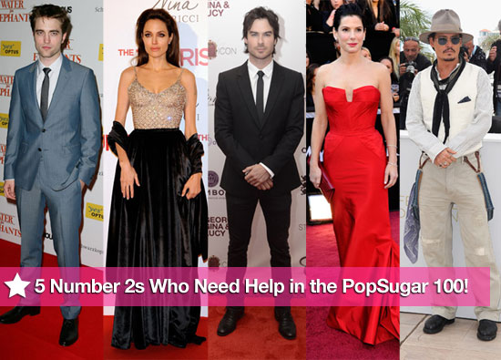 5 Number Twos Who Need Your Help in the PopSugar 100!