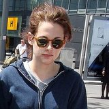 Kristen Stewart Touches Down in Robert Pattinson's Hometown