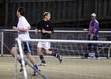 Prince William Plays a Little Soccer as He Preps For the Obamas to Visit