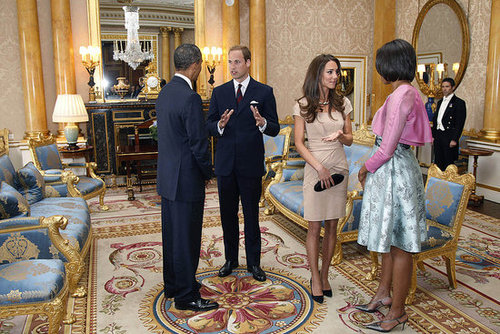 Kate Middleton and Michelle Obama Style