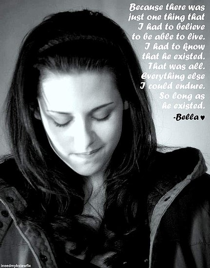 kristen stewart bella new moon. Bella quotes in New Moon.