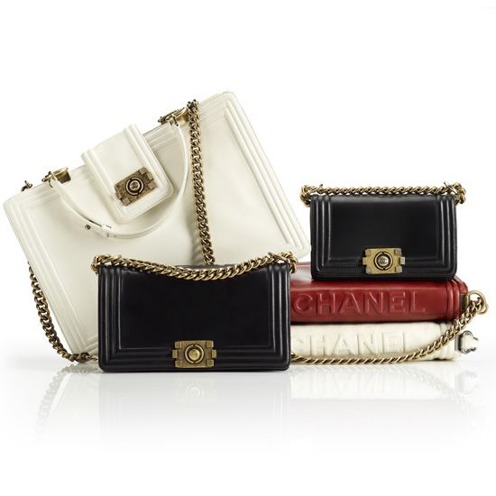 Chanel Launches New Boy Bag Collection for Fall 2011