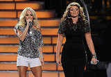 Carrie Underwood and Lauren Alaina