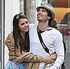 Ian Somerhalder Pictures in Paris With Girlfriend and Vampire Diaries Costar Nina Dobrev