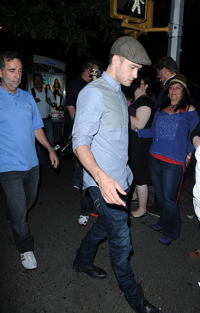 Justin Timberlake Treats Himself to a Night at the Theater