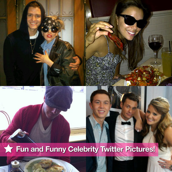 Justin Timberlake, Eva Longoria, David Beckham, and More in This Week's Fun and Funny Celebrity Twitter Pictures!