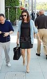 Jennifer Garner Makes It to a Lunch Meeting Between Her Many Mom Duties