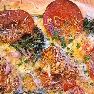 Pepperoni and Broccoli Rabe Pizza Recipe