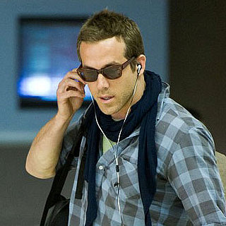 Ryan Reynolds Pictures Arriving at LAX