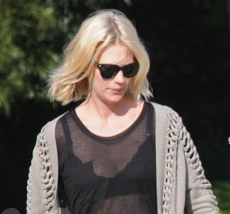 Picture of January Jones Pregnant