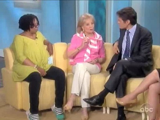 Whoopi Goldberg Gets Gassy With Dr. Oz