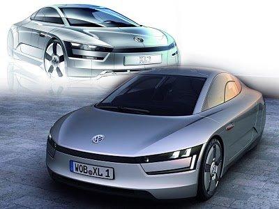 2011 Volkswagen Sports Cars XL1 (SEV) Roadster Diesel Electric Hybrid  Concept