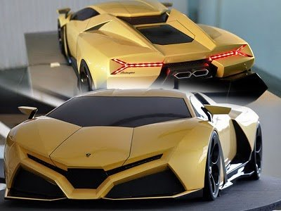 Acura Supercar on Lamborghini Cnossus Concept Car Supercar Models Car News