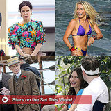 Mark Wahlberg, Mary-Louise Parker, Julianne Hough, and More Stars on Set This Week!