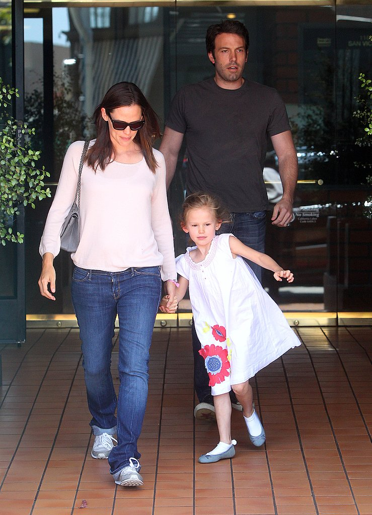 Ben Affleck and Jennifer Garner Treat Violet to a Big-Girl Lunch