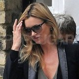 Kate Moss Sees Jamie Hince and His Retro Suitcase Off
