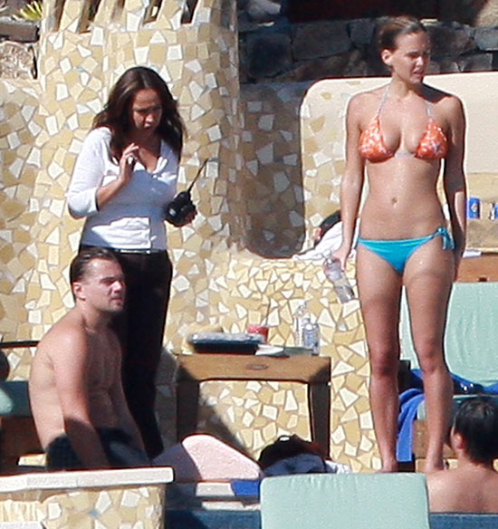 Bar Refaeli and then-boyfriend Leonardo DiCaprio hung out in Cabo in late 2009.