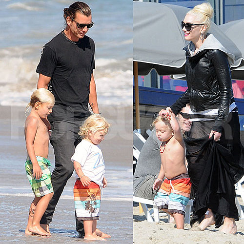 Gwen Stefani, Gavin Rossdale, and Kids on Memorial Day
