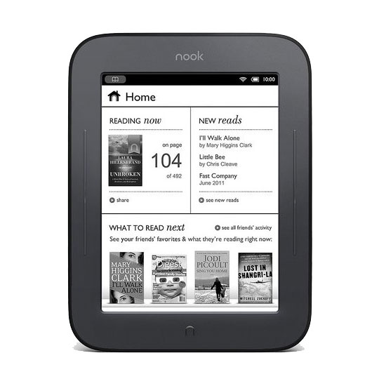 Barnes & Noble Nook Simple Touch Reader ($139)