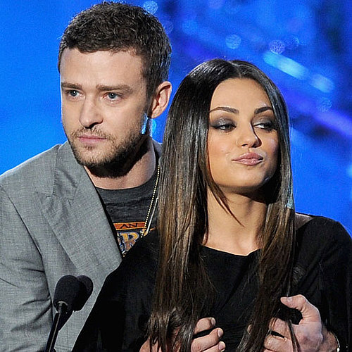 Friends With Benefits Stars Justin Timberlake and Mila Kunis Groping Each Other at MTV Movie Awards