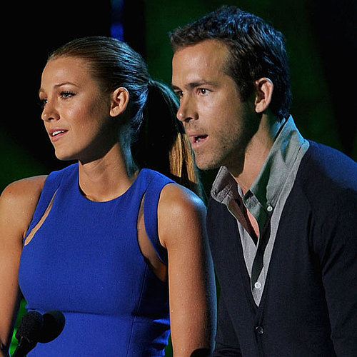 Pictures of Blake Lively and Ryan Reynolds Presenting Best Kiss at the MTV Movie Awards