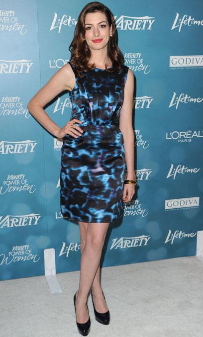 21. Anne Hathaway