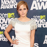 Harry Potter's Emma Watson Is a Vision in White For Her Sexy Red Carpet Arrival