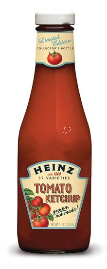 Heinz Ketchup Collector's Edition